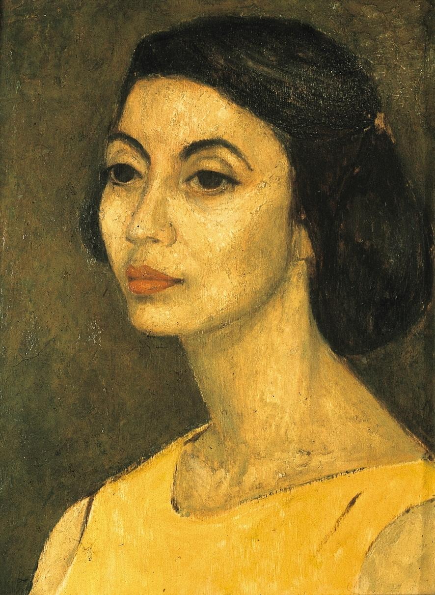 Marina D - Olio su tela, 1958