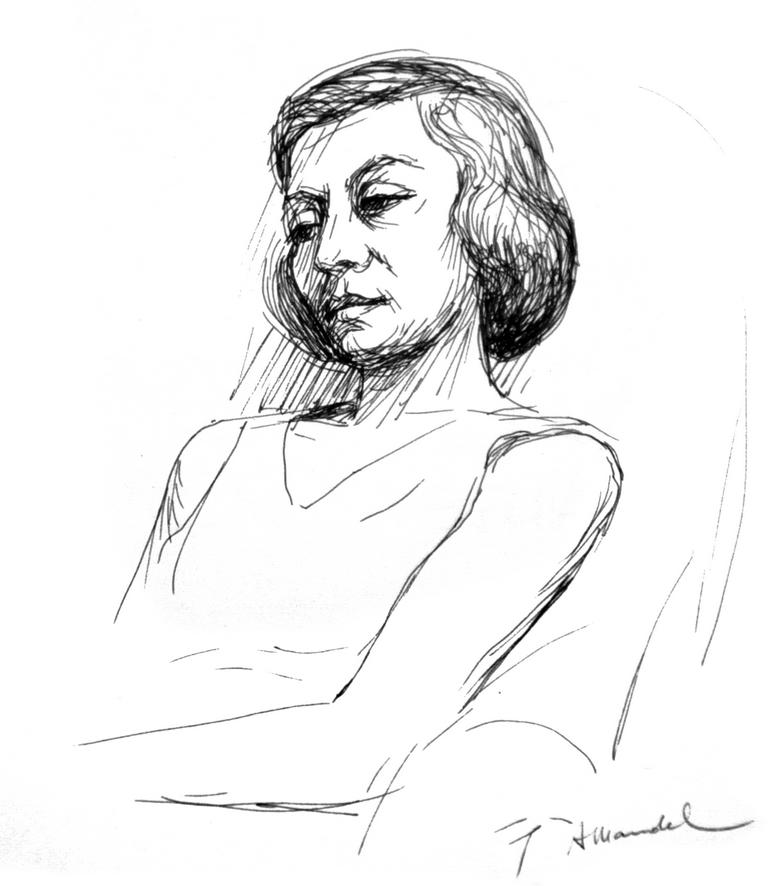 Marina D - Penna e inchiostro, 1958