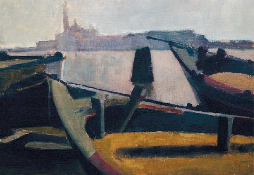 Venezia, San Giorgio – Olio su legno, 1950
