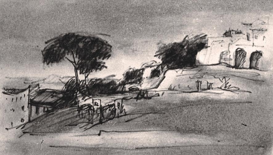 Villa Borghese - Penna e inchiostro, 1958